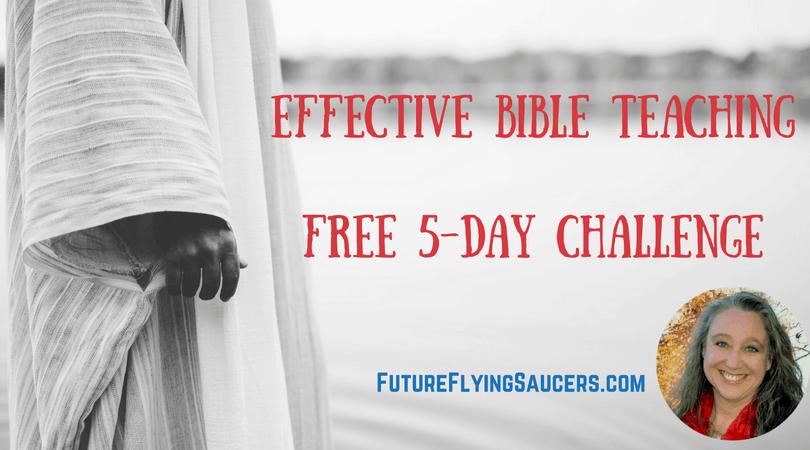 Becoming an Effective Bible Teacher Facebook Challenge