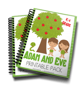 Adam and Eve printable