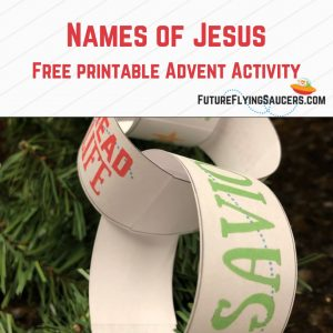 Names of Jesus Advent Activity | Paper Chain #free #advent #activity #kidmin #ministry #childrenministry #family #christmas