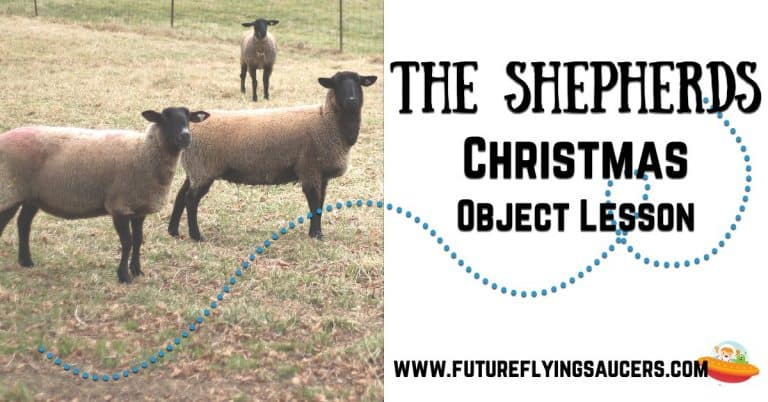 Shepherds Christmas Object Lesson