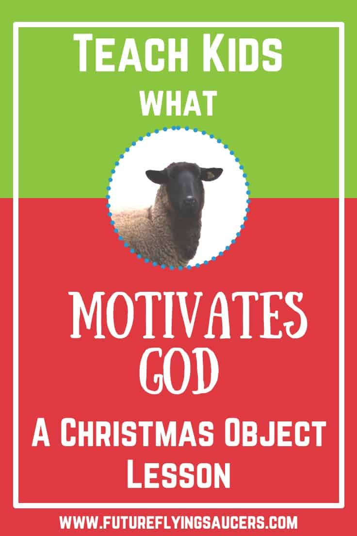 shepherds christmas object lesson