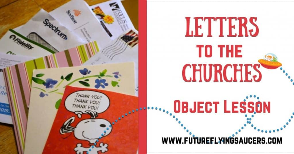 Letters to the Churches Bible Object Lesson