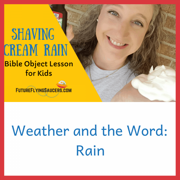 Rain bible object lesson for kids