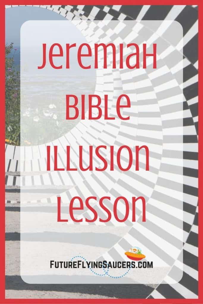 title image for Jeremiah lesson with structure that is an optical illusion