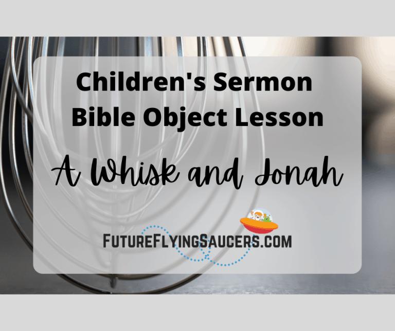 children's sermon about Jonah